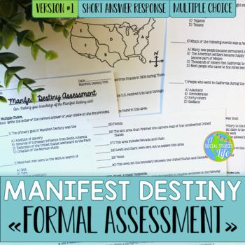 Manifest Destiny Test - Version #1