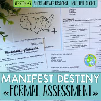 Manifest Destiny Test - Version #3