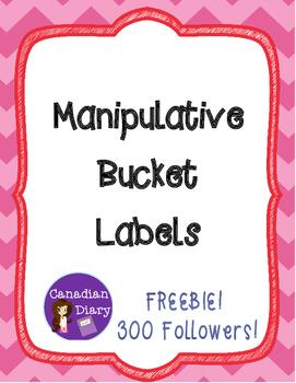 Manipulative Bucket Labels