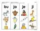 Manipulativos  de Silabas 4 letras B, J, G, ce-ci, ge-gi, V