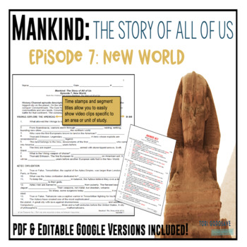 Mankind: The Story of All of Us Episode 7: New World fill-