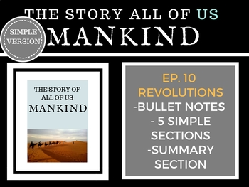 Mankind The Story of all of US Revolution Episode 10 Histo