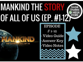 Mankind the Story of all of US Ep. 1-12 Bundle