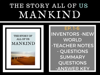 Mankind the Story of all of US Ep. 1-6 Bundle