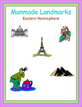 Manmade Landmarks Eastern Hemisphere