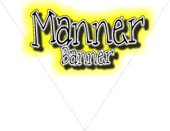 Manner Banner