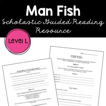 Mannish by Jennifer Berne Guided Reading Supplemental Worksheet