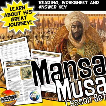 Mansa Musa's Great Journey A Common Core Writing and Liter