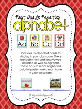 Manuscript Alphabet Posters *FREE*