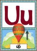 Manuscript Alphabet Posters - Wizard of Oz Theme