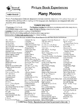 Many Moons Literature Guide