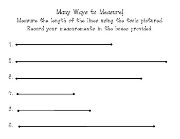 Many Ways to Measure