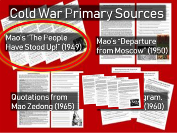 """Mao """"The People Have Stood Up"""" Speech: Chinese Civil War/C"""