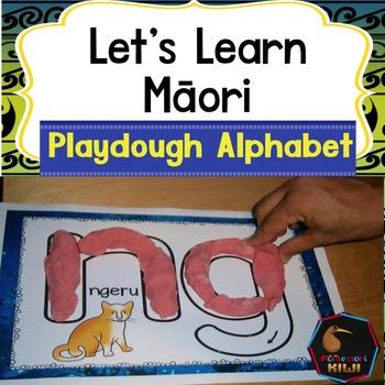 Maori Alphabet Playdough Mats