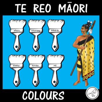 Maori Colours (Te Reo, New Zealand)