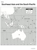 Southeast Asia & the South Pacific - Mapping Activity