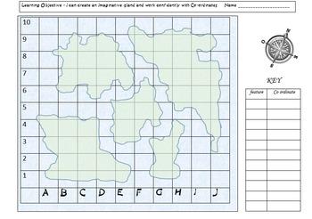 Map Co-ordinates