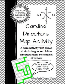 Map Directions Activity