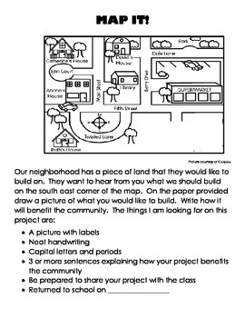 Map It project