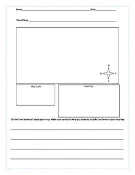 Map Making Worksheet