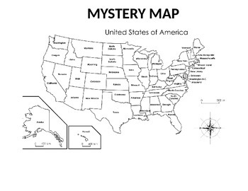 Map Mysteries & Trivia Questions