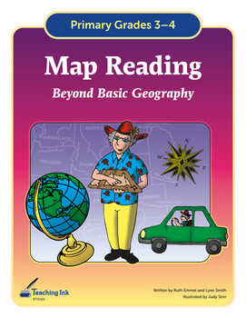 Map Reading (Grades 3-4) by Teaching Ink