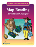 Map Reading (Grades 5-6) by Teaching Ink