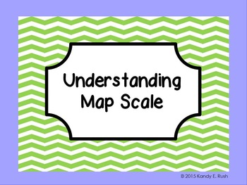 Map Scale Activity for Promethean Board
