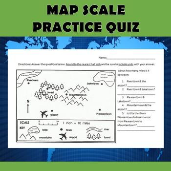Map Scale Practice Quiz