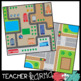 Map Skills BUNDLE of Clipart - 97 pieces