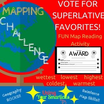 Map Skills - Interactive Challenge