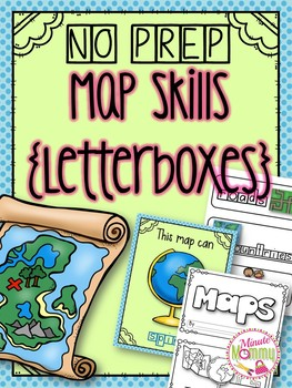 Map Skills Pack {Letterboxes}