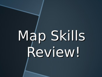 Map Skills Review