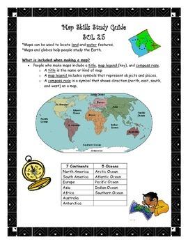 Map Skills Study Guide