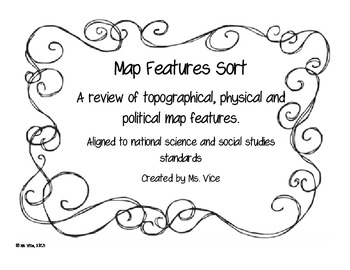 Map Sort to review map features (political, physical, topo