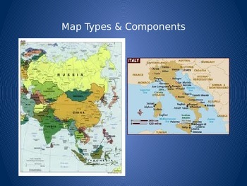 Map Types and Components