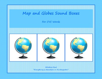 Map and Globe Sound Boxes for your CVC Words