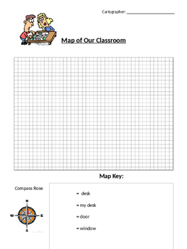 Map of Our Classroom