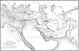 Map of the Empire of Alexander the Great