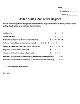 Map Skills: Regions of the US