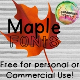 Maple Fonts {free for personal & commercial use}