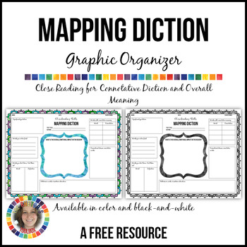 Mapping Diction: Close Reading for Connotative Diction and