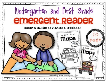 Mapping Emergent Reader for Kindergarten and First Grade S