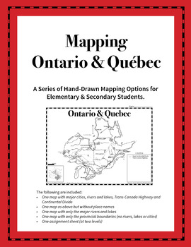Mapping Ontario and Québec