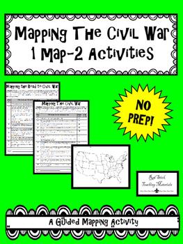Mapping The Civil War--No PREP!