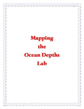Mapping the Ocean Depths Lab