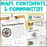 Maps, Continents, and Communities
