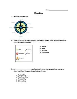 Maps Quiz