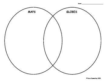 Maps Vs. Globes Venn Diagram
