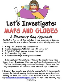 Maps and Globes Discovery Bag